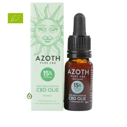 Azoth CBD olie 15%