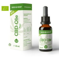 Medihemp Puur 2,5% 30ml