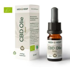 Medihemp Raw CBD olie 10% 10ml