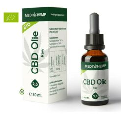 Medihemp Raw 2,5% 30ml