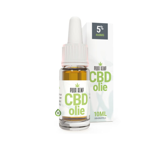 PuurHemp CBD olie 5% 10ml