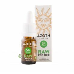 Azoth CBD olie Raw 5%